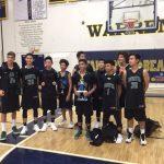 JV Boys Basketball Places 2nd @ Warren Tournament