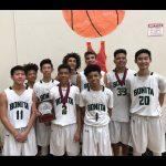 JV Boys Basketball 2nd Place Bellflower Tournament