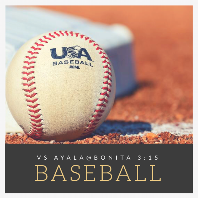 Baseball Tomorrow vs Ayala – Varsity Home