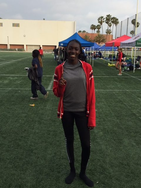 Frosh Standout Alisha Wilson Named to All- State Frosh Track Athlete List in CA