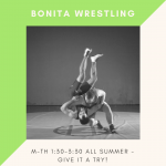 Wrestling Practices – Open to All!