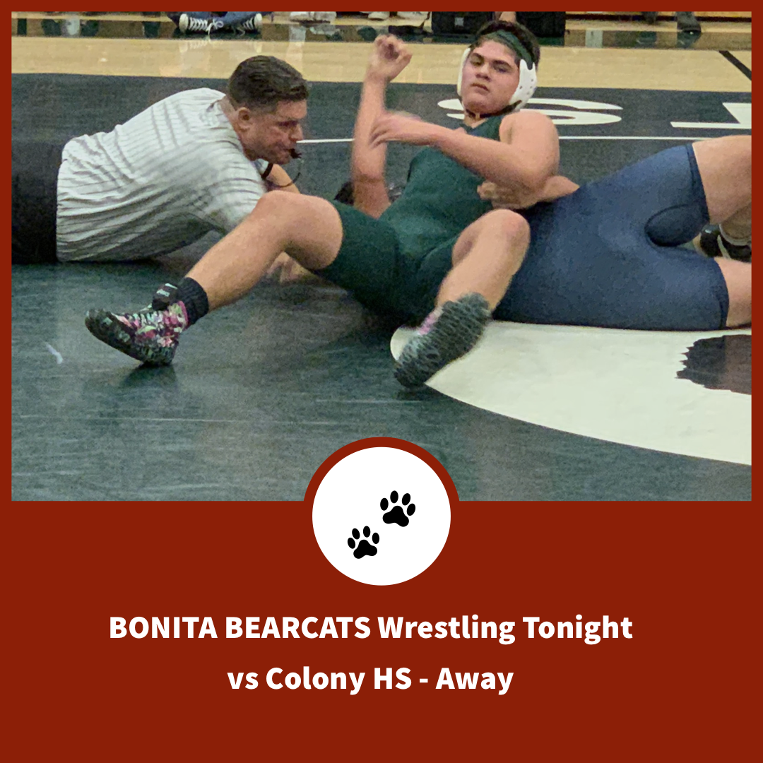 Wrestling Tonight at Colony High School – 5:30 pm