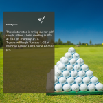 Golf Try Out Information – Meeting Thursday 1-17 in Room 905