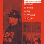 Baseball Today vs Walnut 3:30