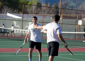 Tennis 2-19 vs Damien
