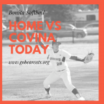 Softball Home vs Covina Today