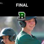 Victory – Frosh Baseball over Colony