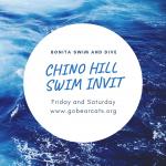 Swim and Dive at Chino Hills Invitational