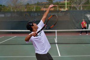Tennis 4-30-19 vs Oakwood