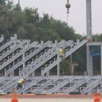 Glenn Davis Stadium Progress Documented
