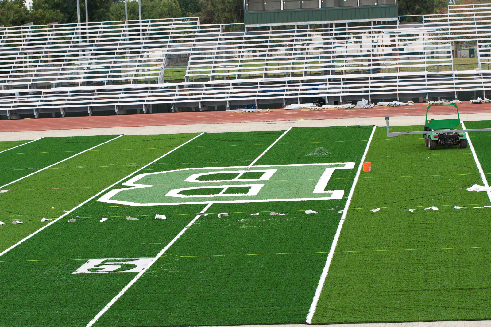 Field Completed!  Drone Video of Finished Field