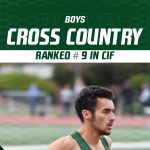 Boys Cross Country Ranked #9 in CIF