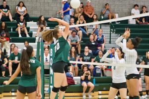Volleyball 9-3 vs South Hills