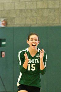 Varsity Volleyball vs Glendora 9-17