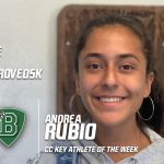 Congratulations to Andrea Rubio – Cross Country Key Athlete of the Week