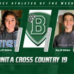 David Ignacio and Alexa Garcia Named Cross Country Athletes of the Week