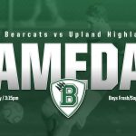 Boys Frosh/Soph Soccer At Upland Today