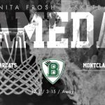 Frosh Boys Basketball at Montclair Today 3:15 PM