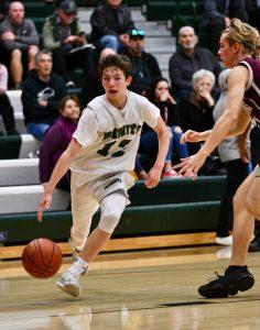 Frosh and JV Boys Basketball vs Claremont