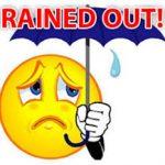 Baseball and Softball Rain Out Called