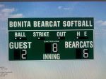 New Scoreboard for Bonita Softball Facility Gains Approval