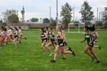 Congratulations Allie, Alexa and Sammie in Cross Country League Final Race