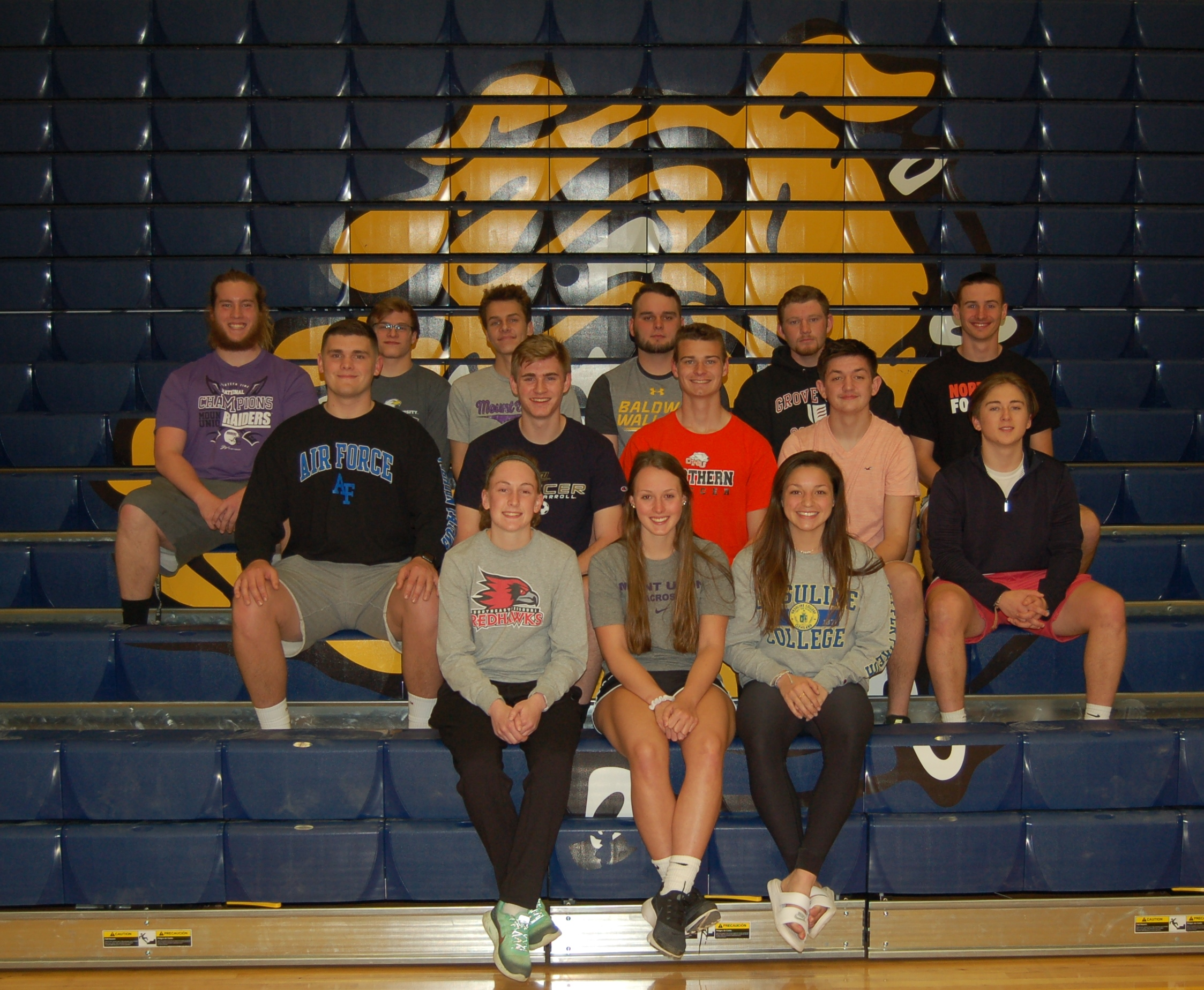 Class of 2018 Olmsted Falls Athletic Signings