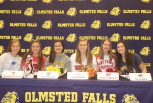 November 14th 2018 Olmsted Falls High School Signing Day