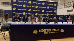 Olmsted Falls High School Signing Day February 2019
