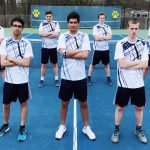 Boys Varsity Tennis beats Amherst Steele 4 – 1
