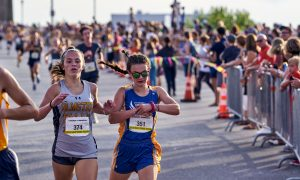 OFXC Girls at the Guardian Mile 2019
