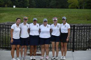 Girls Golf v N Olmsted on 8 21 19
