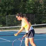 Girls Varsity Tennis Completes Day 1 of SWC Tournament