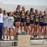 Girls Varsity Cross Country finishes 2nd place at Vermilion High School