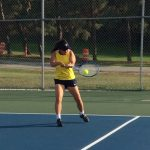 Girl's Varsity Tennis advances through rounds at the Sectional Tournament
