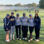 Girls Varsity Golf finishes 7th place at District Tournament
