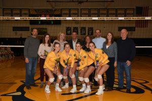 Volleyball 2019 Senior Night