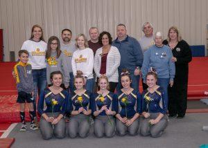 Gymnastics Senior Night 12 21 19