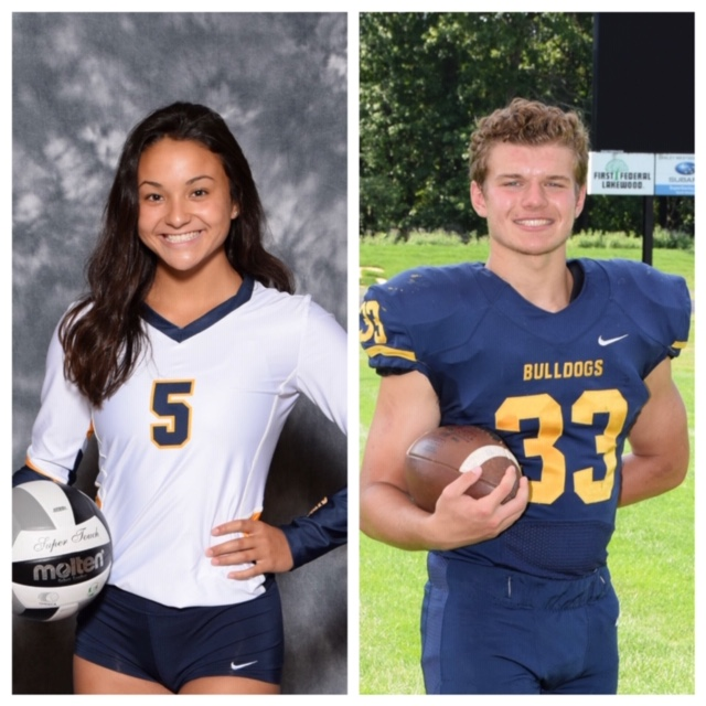 2019 – 2020 Underclass Athletes of the Year