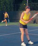 Girls Varsity Tennis has first loss