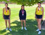Girls Varsity Tennis Earns Medals at SWC Tournament