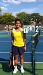 Freshman Vallejo Wins First Singles at Girls JV SWC Tournament