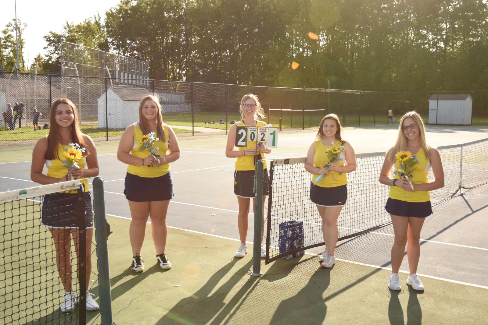 Girls Tennis Senior Day