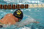 Swimming picks up pair of wins against Amherst