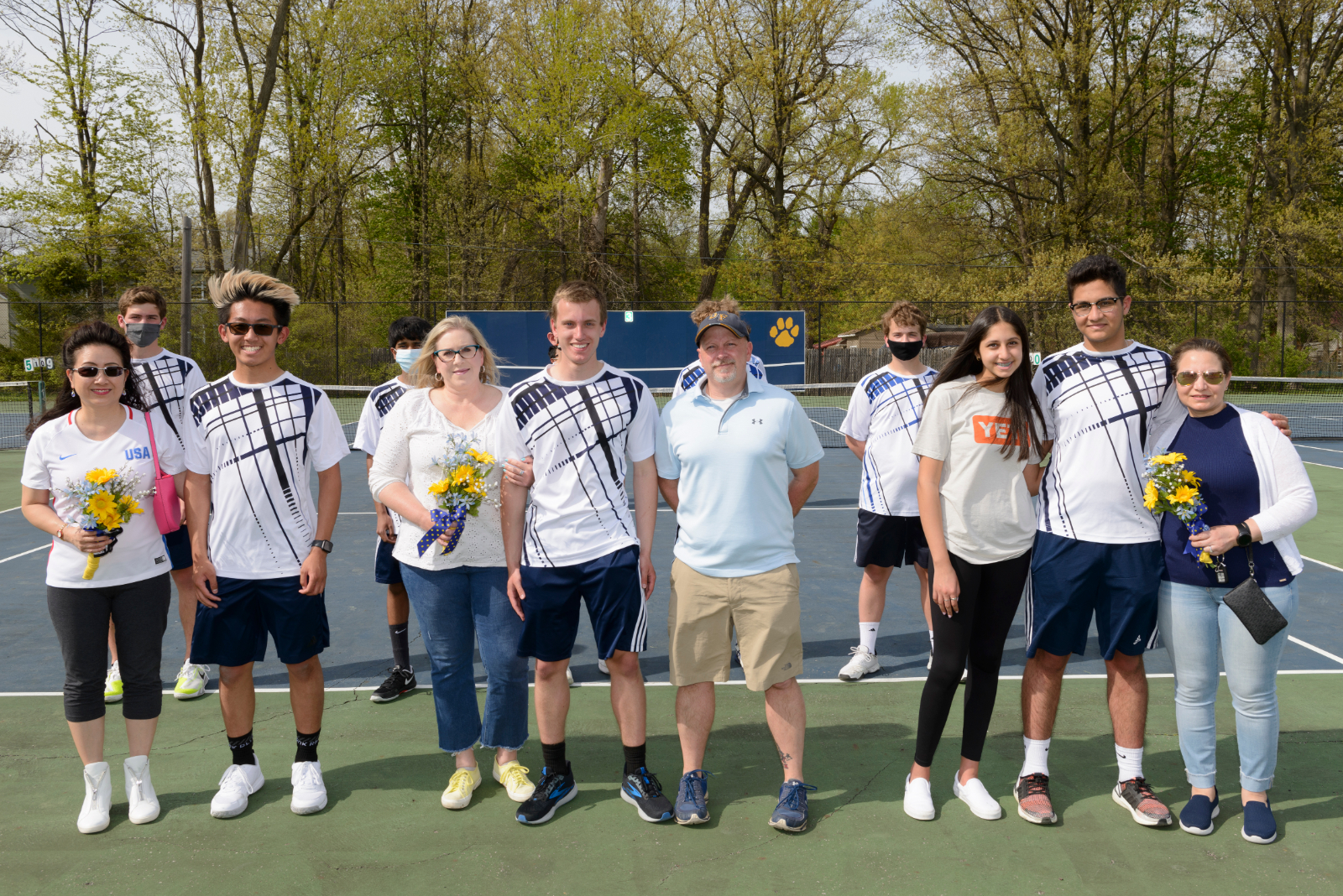 2021 Boys Tennis Senior Day