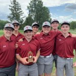 Boys Varsity Golf finishes 1st place at North Union Tournament