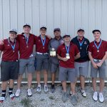 Boys Varsity Golf finishes 2nd place at Ridgedale Invitational