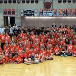 Special thanks to all the K-7th grade girls who came out to support the NC cheerleaders in a fun day of cheer, dance, jumps, and chants. Go Vikes!