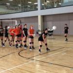 Varsity Volleyball First Annual Black vs Orange Civil War