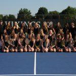 Hoover High School Girls Tennis Team 2017-18